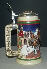 Buy CS343SE 1998 Budweiser Holiday Stein in Box - RS6