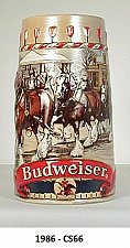 """Buy DS66 - 1986 """"Traditional House"""" Budweiser Holiday Sten"""