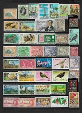 Buy St. Kitts, Nevis, & Anguilla Mixed Lot All Different Stamps