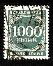 Buy German Used Scott #234 Catalog Value $1.50