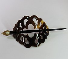 Buy Buffalo horn hair accessories - Horn hair clips