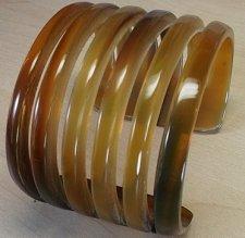 Buy Horn cuff - Horn bracelet - Gift for her - gift for women KAI-3685