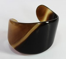 Buy Horn bracelet cuff - Buffalo horn jewelry - Horn cuff - KAI-3727