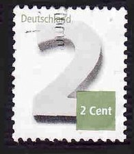 Buy German Used Scott #2758 Catalog Value $.25