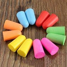 Buy Soft Foam Ear Plugs Travel Sleep Noise Prevention Earplugs Noise Reduction For Travel