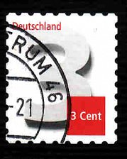 Buy German Used Scott #2698 Catalog Value $.25