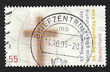 Buy German Used Scott #2343 Catalog Value $.80