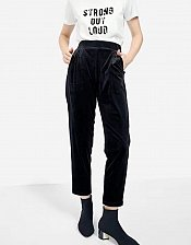 Buy women velvet pants