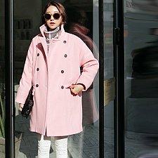 Buy women wool long coat 2 colors choose