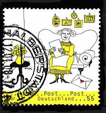 Buy German Used Scott #2455 Catalog Value $.80
