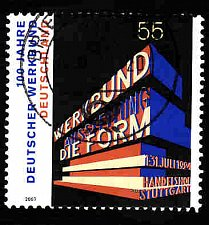 Buy German Used Scott #2458 Catalog Value $.80