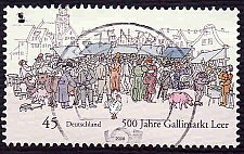 Buy German Used Scott #2504 Catalog Value $.60