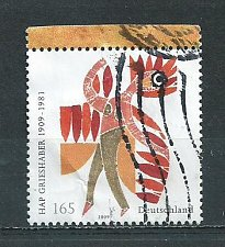 Buy German Used Scott #2521 Catalog Value $2.10