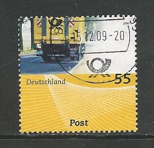 Buy German Used Scott #2526 Catalog Value $.75