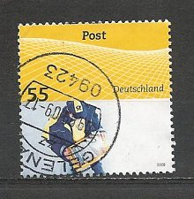 Buy German Used Scott #2527 Catalog Value $.75