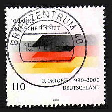 Buy German Used Scott #2102 Catalog Value $.85