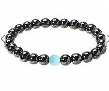 Buy handmade beads lava bracelet