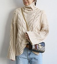 Buy women high neck sweater