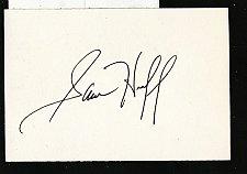 Buy Sam Huff Signed 3x5 Index Card