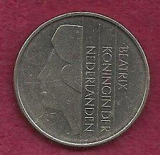 Buy NETHERLANDS 1 Gulden 1982 Coin Pre-Euro Nickel Coin - Queen Beatrix