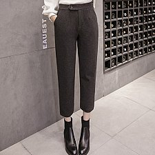 Buy women ninth pants high waist 2 colors