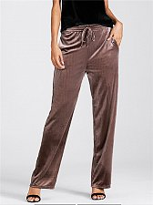 Buy women velvet long pants