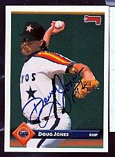 Buy Doug Jones RHP Signed Donruss Trading Card 296