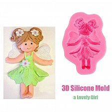 Buy fairy silicone mold DIY JEWELRY craft supplies