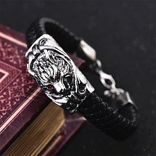 Buy men wolf head bracelet