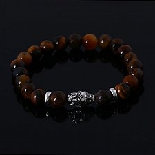 Buy lava stone fashion buddha beads bracelet