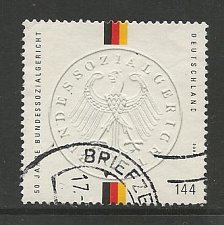 Buy German Used Scott #2299 Catalog Value $2.10