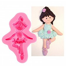 Buy Doll Silicone mold cake mold jewelry decoration
