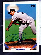 Buy Rich Rodriguez, LP, Padres, Topps Trading Card 693