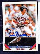 Buy Phil Platier, OF, Red Sox, Topps Trading Card 592