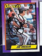 Buy Joe Orsulak, OF, Orioles, Topps Trading Card 212