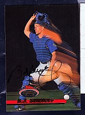 Buy B. J. Surhoff, C, Brewers, Topps Stadium Club Trading Card 711