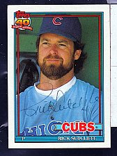 Buy Rick Sutcliffe, P, Cubs, Topps Trading Card 415