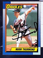 Buy Mark Thurmond, LHP, Orioles, Topps Trading Card 758