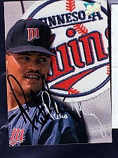 Buy Pedro Munoz, R, Twins, Leaf Trading Card 166