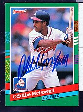 Buy Oddibe McDowell, OF,Braves, Donruss Card 450