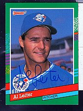 Buy Al Leiter, LHP, Blue Jays, Donruss Card 697