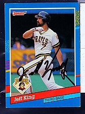 Buy Jeff King, 3B, Pirates, Donruss Card 233