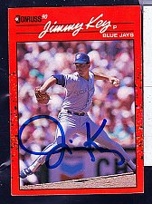 Buy Jimmy Key, LHP, Blue Jays, Donruss Card 231