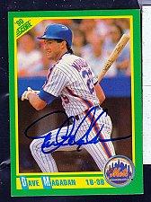 Buy Dave Magadan, 1/3B, Mets, Score Trading Card 46