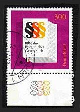 Buy German Used Scott #1942 Catalog Value $2.25
