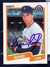 Buy Kevin Ritz, RHP, Tigers, Fleer Trading Card 613
