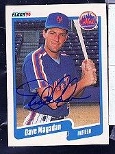 Buy Dave Magadan, IF, Mets, Fleer Trading Card 210
