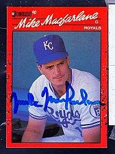 Buy Michael (Mike) Macfarlane, C, royals, Donruss Card 498