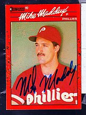 Buy Mike Maddux, RHP, Phillies, Donruss Card 312