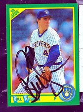 Buy Bill Weman, RHP, Brewers, Score Trading Card 188